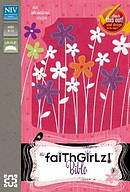 NIV, Faithgirlz! Bible: Revised Edition, Imitation Leather, Pink/Purple