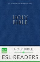 NIrV, Holy Bible: for ESL Readers, Paperback, Blue