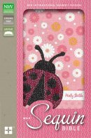 NIrV, Sequin Bible, Imitation Leather, Pink