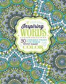 Inspiring Words Colouring Book