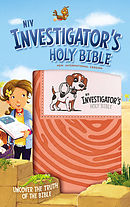 NIV Investigator's Holy Bible, Leathersoft, Coral: Uncover the Truth of the Bible