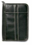 Bible Cover Imitation Leather Black Extra Large