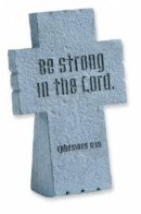 Be Strong Resin Standing Cross