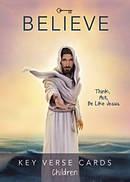 Believe Key Verse Cards: Children