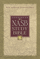 NASB Study Bible: Burgundy, Bonded Leather, Thumb Index