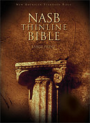 NASB Thinline Bible: Hardback, Large Print