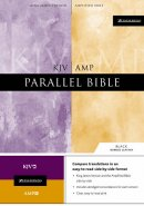 KJV / Amplified Parallel Bible: Black, Bonded Leather