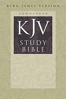 KJV Study Bible: Hardback, Large Print
