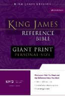 KJV Personal Size Reference Bible: Black, Imitation Leather, Giant Print