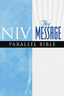 NIV / The Message Parallel Bible: Hardback