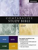 KJV / NIV / AMP / NASB Comparative Study Bible: Hardback