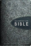 Everyday Life Bible: Pewter, Bonded Leather