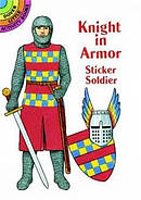 Knight in Armor Sticker Book