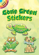 Gone Green Stickers