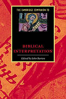 The Cambridge Companion to Biblical Interpretation