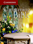 KJV Christening Bible: White, Imitation Leather