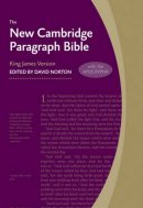 KJV New Cambridge Paragraph Bible with Apocrypha Grey