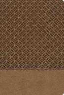 KJV Study Bible Imitation Leather Tan