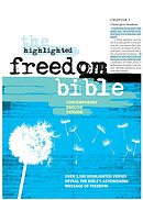 CEV Highlighted Freedom Bible