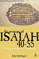 Message of Isaiah 40-55: A Literary-theological Commentary