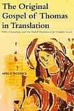 Original Gospel Of Thomas In Translation