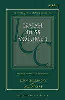 Isaiah 40-55 Vol 1: International Critical Commentary