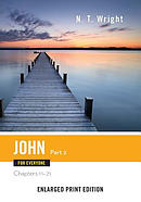 John for Everyone, Part 2-Enlarged Print Edition: Chapters 11-21