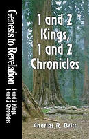 Genesis to Revelation - 1 & 2 Kings, 1 & 2 Chronicles Student Study Book