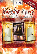 Worship Feast Taize Services with Split Track CD