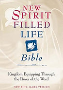 NKJV New Spirit Filled Life Bible: Black,  Bonded Leather