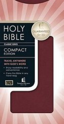 KJV Classic Companion Bible Chequebook Size Bonded Leather Burgundy