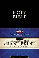 NKJV Personal Reference Bible: Imitation Leather, Giant Print