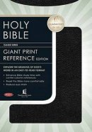 NKJV Reference Bible: Black, Bonded Leater, Giant Print, Thumb Indexed