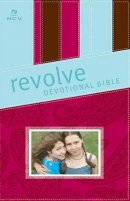 NCV Revolve Devotional Bible: Pink, Brown & Blue,  LeatherSoft