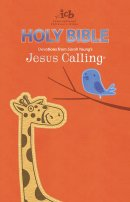 ICB, Jesus Calling Bible for Children, Orange, Leathersoft