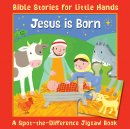 Jesus is Born A Spot-the-Difference Jigsaw Book
