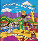 Square Cased Bible Story Book - Heroes and Heroines the Old Testament