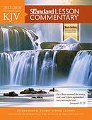 KJV Standard Lesson Commentary 2017-2018
