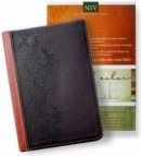 NIV Standard Full Colour Study Bible Bonded Leather Brown