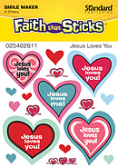 Stickers Jesus Loves You