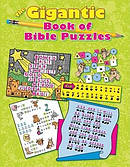 Gigantic Book Of Bible Puzzles The