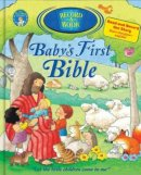 Babys First Bible Record A Book