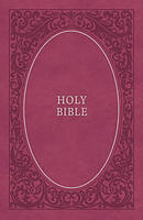 NKJV, Holy Bible, Soft Touch Edition, Leathersoft, Pink, Comfort Print