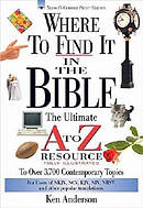 Where To Find It In The Bible Super Saver
