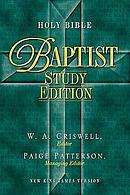 Holy Bible, NKJV Baptist Study Edition Bonded Leather Burgundy