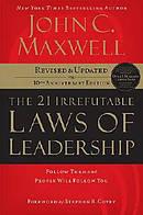 21 Irrefutable Laws of Leadership CD