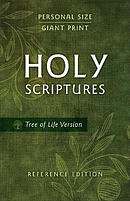 TLV Personal Size Giant Print Reference Bible