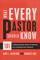 What Every Pastor Should Know