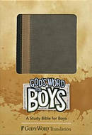 God's Word for Boys Hunter Green/Khaki Duravella