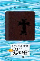 Study Bible for Boys-KJV-Cross Design